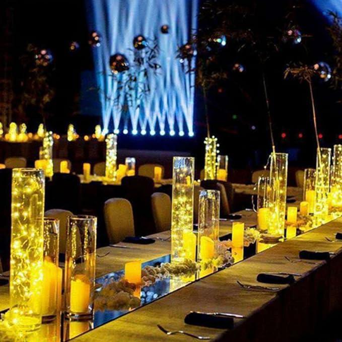 Aohro 6Pcs Vino Botella Cork Lights Corcho LED Botella Luz, para Botella DIY, Navidad, Decoración Festiva(Blanco Cálido): Amazon.es: Juguetes y juegos