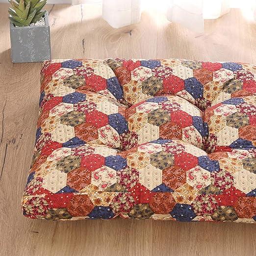 SYT Cushion Cojín de Lona de algodón Silla de Oficina Tatami ...