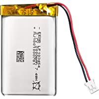 EEMB 3.7V 2000mAh Li-ion polymeer batterij 103454 lipo batterij Li-polymeer oplaadbare batterij met JST connector