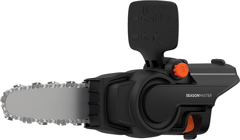 Black+Decker BCASCS61B-XJ - Cabezal motosierra 25 cm SeasonMaster, 18 V, negro