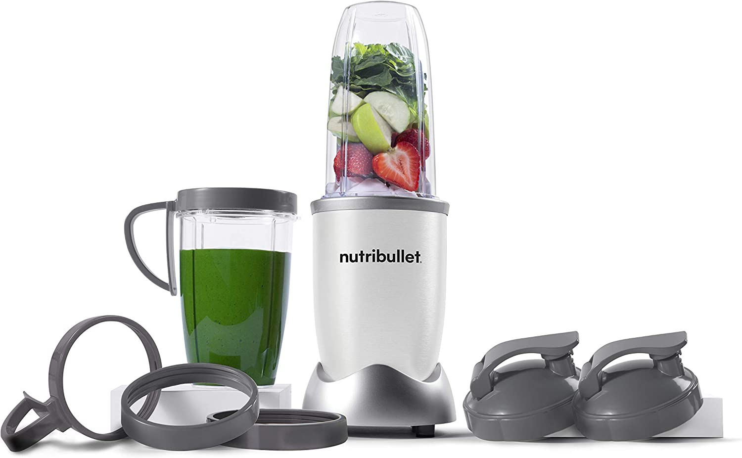 NutriBullet NB9-1301W Pro 13 Pcs White, 900W (Renewed)