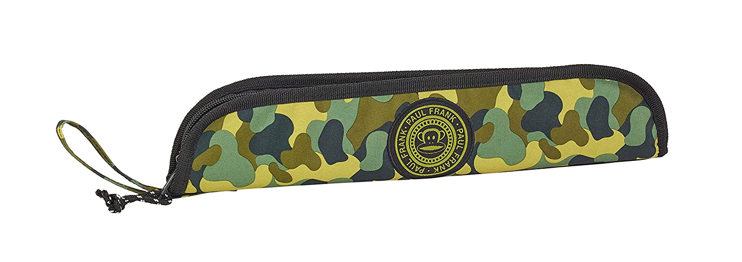 Paul Frank Camo Oficial Portaflautas 370x20x80mm: Amazon.es ...