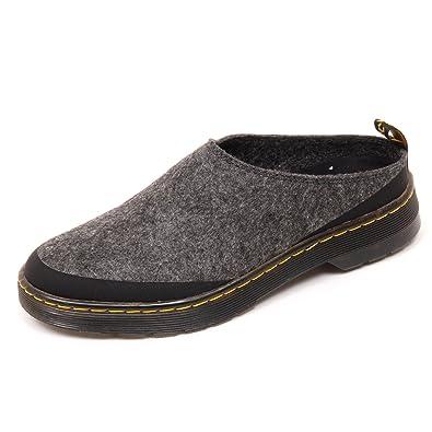 D1730 sabot donna DR. MARTENS ELYSIA scarpe grigio shoe woman [37]: Amazon.es: Zapatos y complementos
