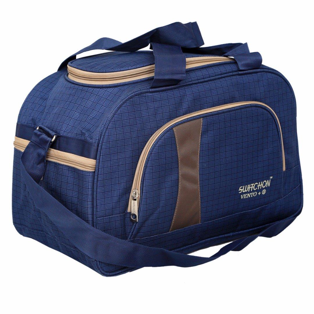 KI19063 Shoulder Bag Weekender Bag with Inner Pocket Kuber Industries Travel Duffle Luggage Bag