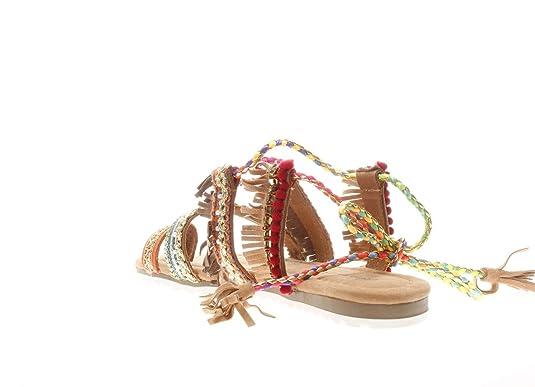 Alma en Pena Donna Infradito 642 Sand Infradito Multicolore: Amazon.it:  Scarpe e borse