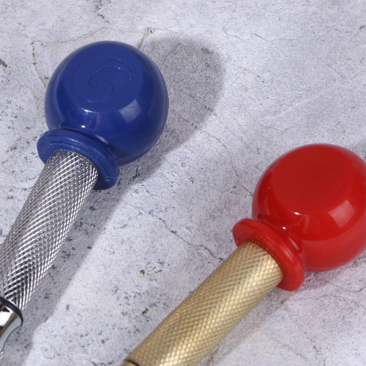 DOITOOL 2 Piezas Punz/ón Central Autom/ático de 5 pulgadas Punta de trazar para metal de punzon automatico con tapa acolchada e impacto ajustable para metal o madera