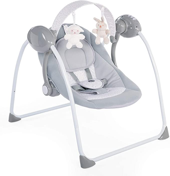 CHICCO 00079148190000 Baby Balancín – Relax & Play, gris: Amazon ...