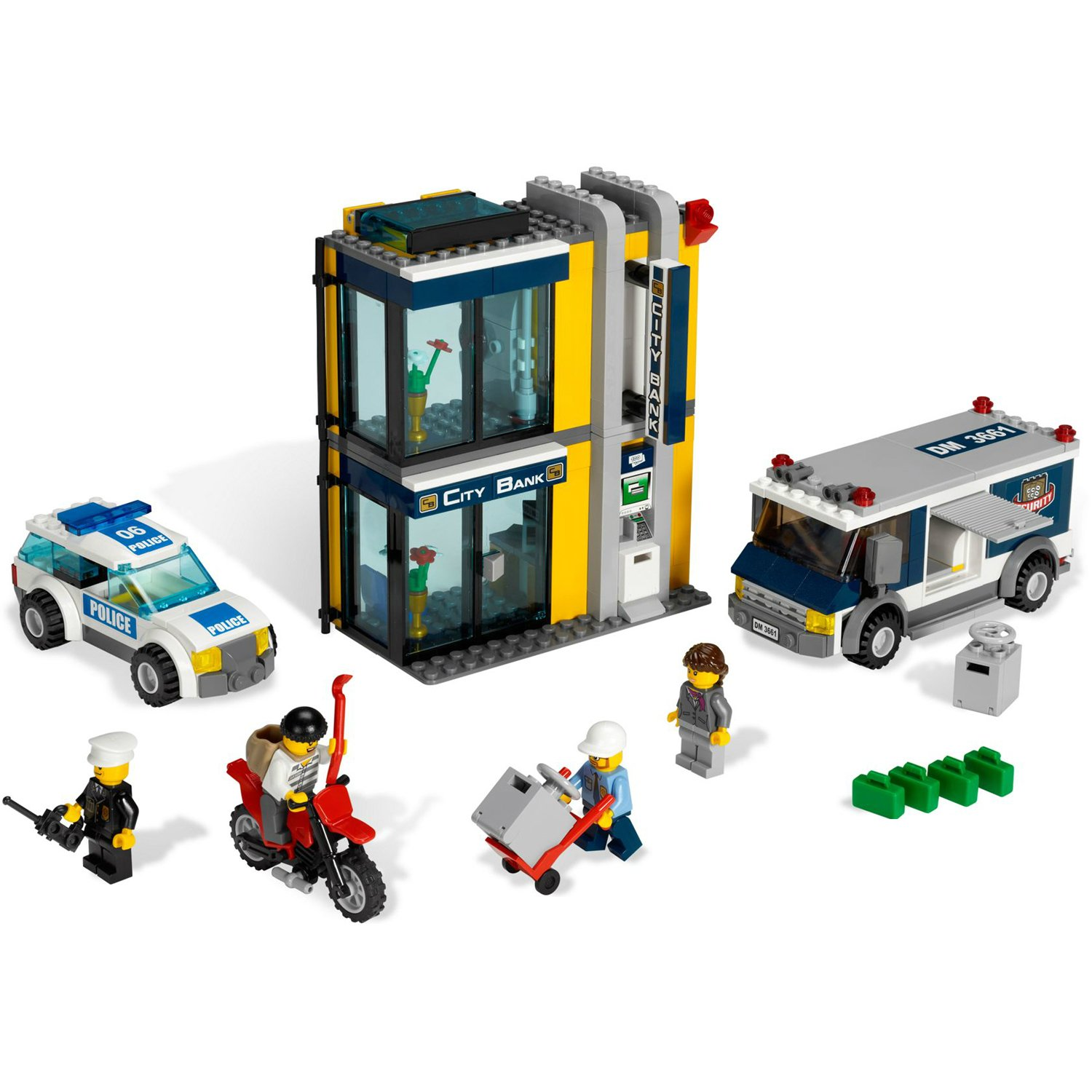 Amazoncom Lego City Police Bank Money Transfer 3661 Toys Games