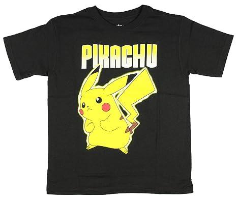 bf02a125 Freeze Pokemon Boys' Pikachu Hashtag T-Shirt (XS 4/5): Amazon.co.uk ...