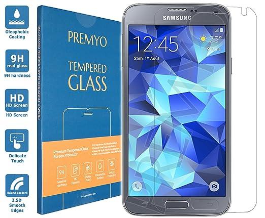 6 opinioni per PREMYO vetro temperato Samsung S5 Neo. Pellicola vetro temperato S5 Neo con una