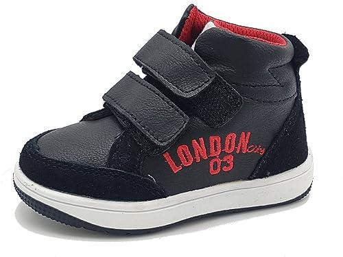 Shoes scarpe scarponcino collo alto bimbo bambino per Inverno Autunno  sportive casual comode sneakers da ginnastica 1b5b81dfc50