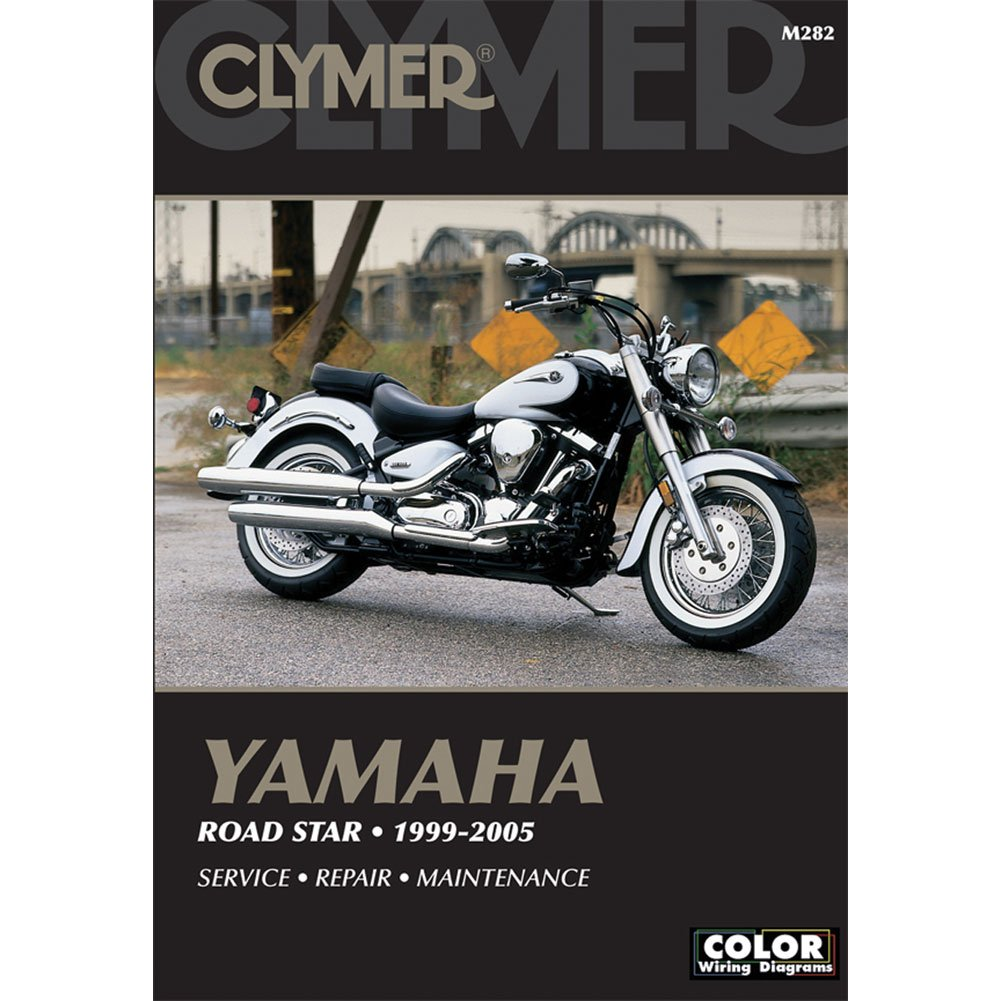 Clymer Yamama Road Star 1999 2007 Automotive 2006 Yamaha V Wiring Diagram