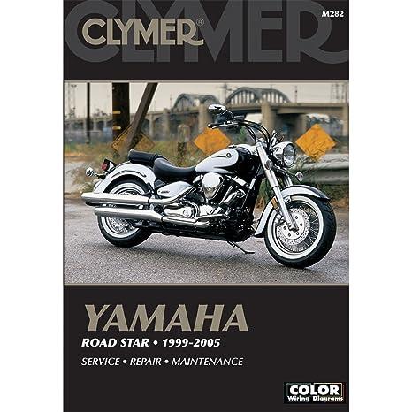 amazon com clymer yamama road star 1999 2007 automotive rh amazon com Custom Yamaha Road Star 1700 2004 yamaha road star 1700 repair manual