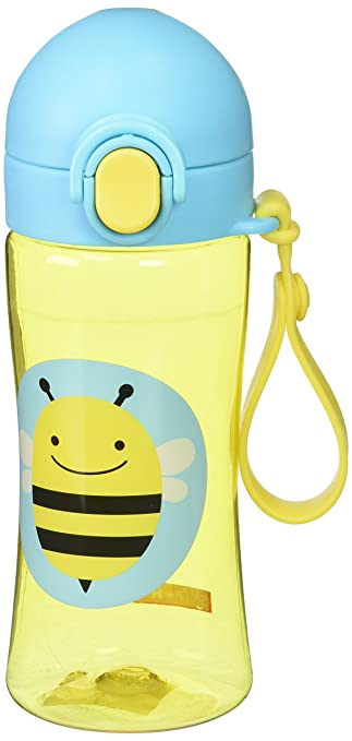 Bee Yellow Skip Hop Zoo Lock-Top Sports Bottle