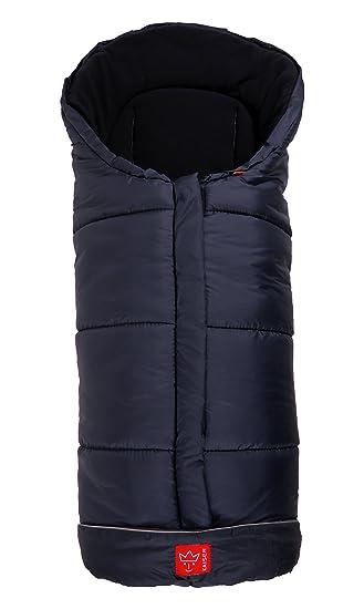 Kaiser Naturfelle 6570822 Fußsack Iglu Thermo Fleece Farbe Marine Baby