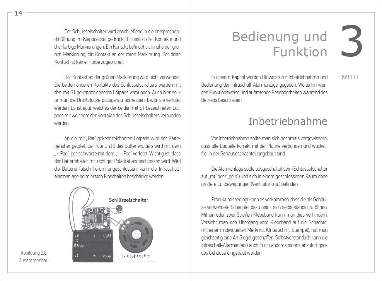 Gut gemocht FRANZIS Alarmanlage selber bauen / Alarm System Kit Deutsch GF23