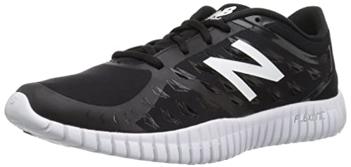 New Balance Women's Flexonic WX99V2 Training Cross-Trainer Shoe,  Black/Champagne Metallic,