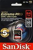 【5年保証】 SanDisk サンディスク SDXC カード 64GB Extreme Pro UHS-I 超高速U3 Class10 [並行輸入品]