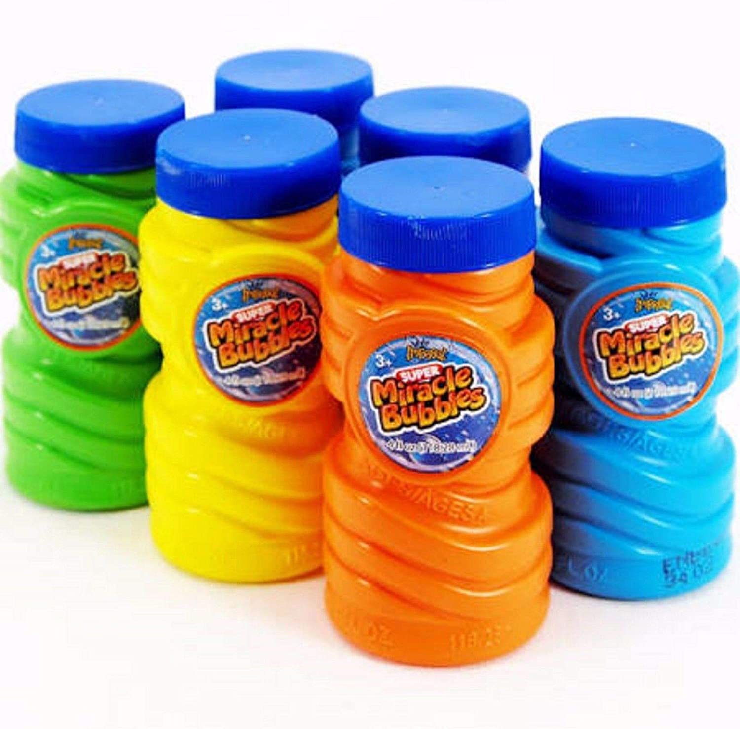 SUPER MIRACLE BUBBLES PARTY 6 PACK