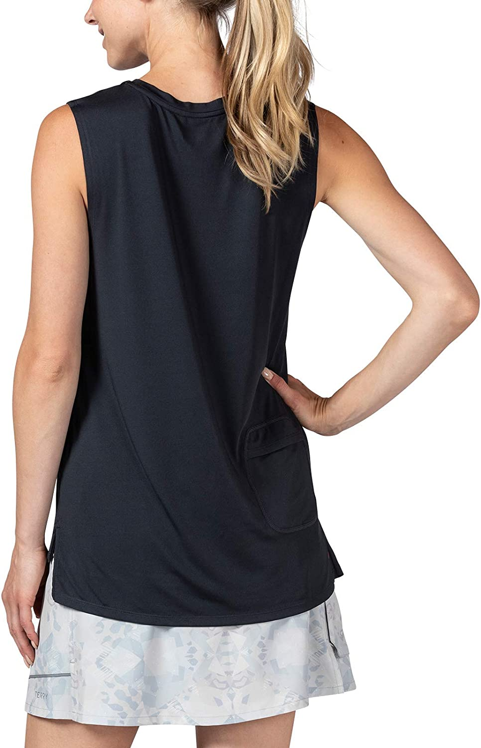 Terry Tech Tank Cycling Jersey Quick Dry Breathable Athletic Workout Shirt Women/'s Sleeveless