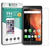 Micromax Canvas 6 Pro Tempered Glass Screen Guard Protector Ultra Strong (9H)-Slim by Skin4Gadgets with Gift Card of Rs.200.