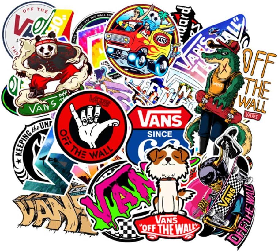 Tide Brand Skateboard Stickers 100pcs Waterproof Vinyl Stickers Water Bottles Laptop Stickers Cars Motorbikes Bicycle Luggage Phone Ipad Graffiti Decals Sport Sticker Gaming Sticker