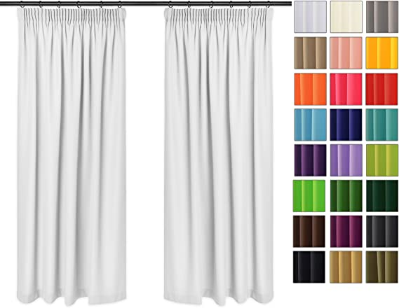 Einfarbig Fenstervorhang Fenster Gardine Schlafzimmer Wohnzimmer Haus Dekor