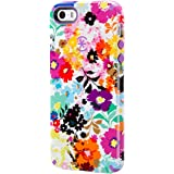 Speck Candyshell Inked Case for Apple iPhone 5/5s - Bold Blossoms White/Revolution Purple