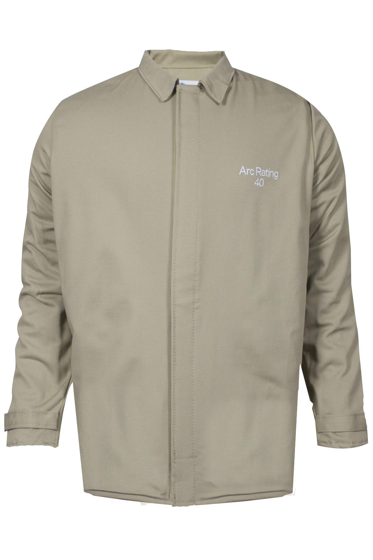 National Safety Apparel ArcGuard Economy Arc Flash Short Coat, Khaki by National Safety Apparel Inc (Image #1)