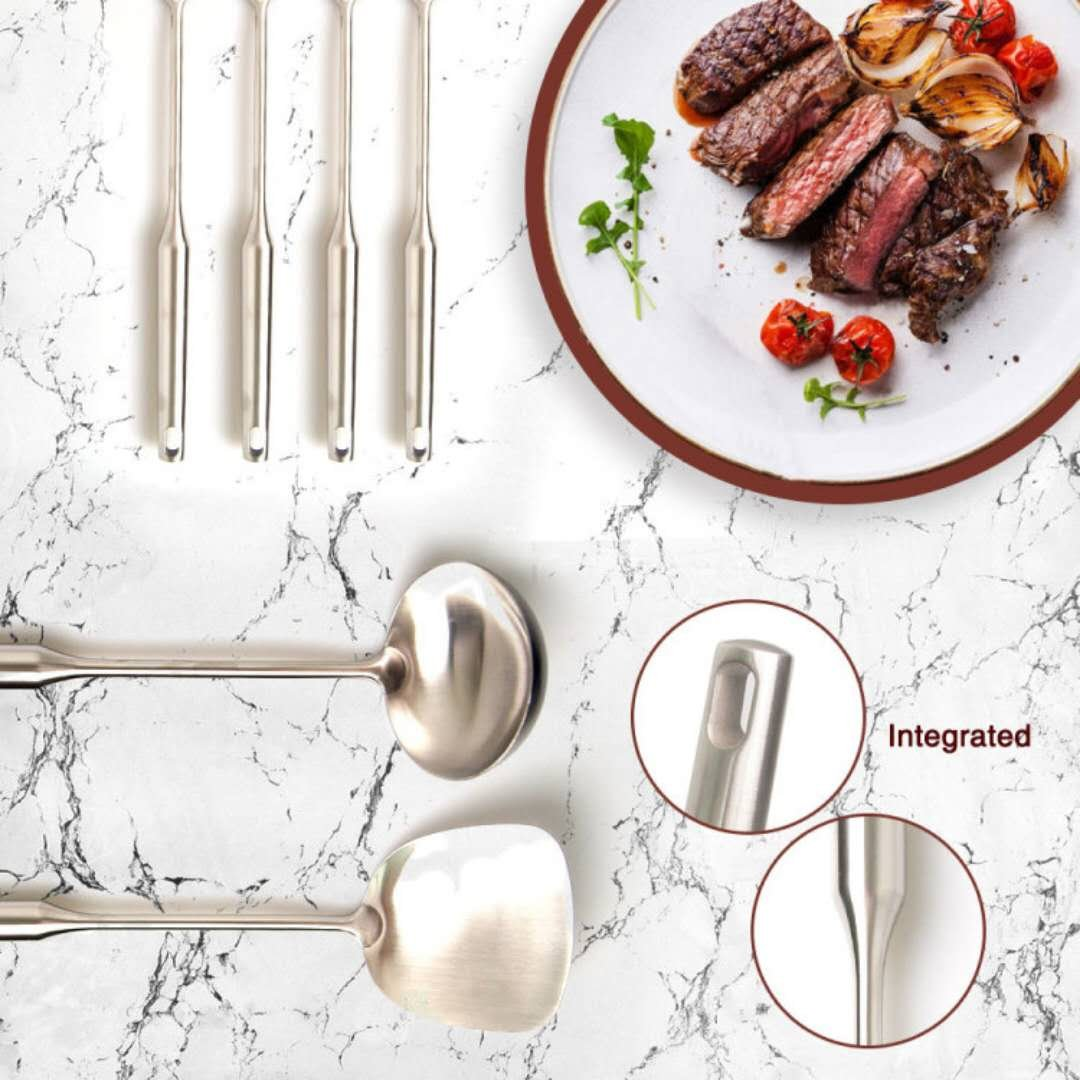Heavy duty, Commercial grade Stainless steel Kitchen Cooking Utensil 4-piece set
