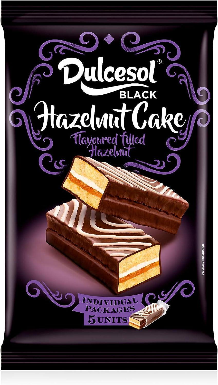 Dulcesol, 🎂😋 Hazelnut Cake (Bizcocho de Avellana) - 5 unidades. 🎂😋: Amazon.es: Alimentación y bebidas