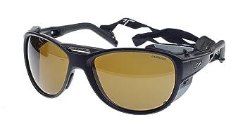 Julbo Explorer 2.0 Gafas de Sol, Negro Matt, Cameleon Anti-Niebla Lentes Fotocromáticas
