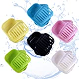 Efivs Arts Soap Case Holder, Plastic Travel Soap Box Containers Waterproof Portable Soap Dish for Home Gym Outdoor…