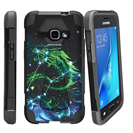 size 40 f683c 08e34 Galaxy Express 3 Case| Amp 2 Hard Case| J1 (2016) Case| Samsung Galaxy Luna  Case [SHOCK FUSION] Rugged Slim Heavy Duty Kickstand Cover Shell with ...