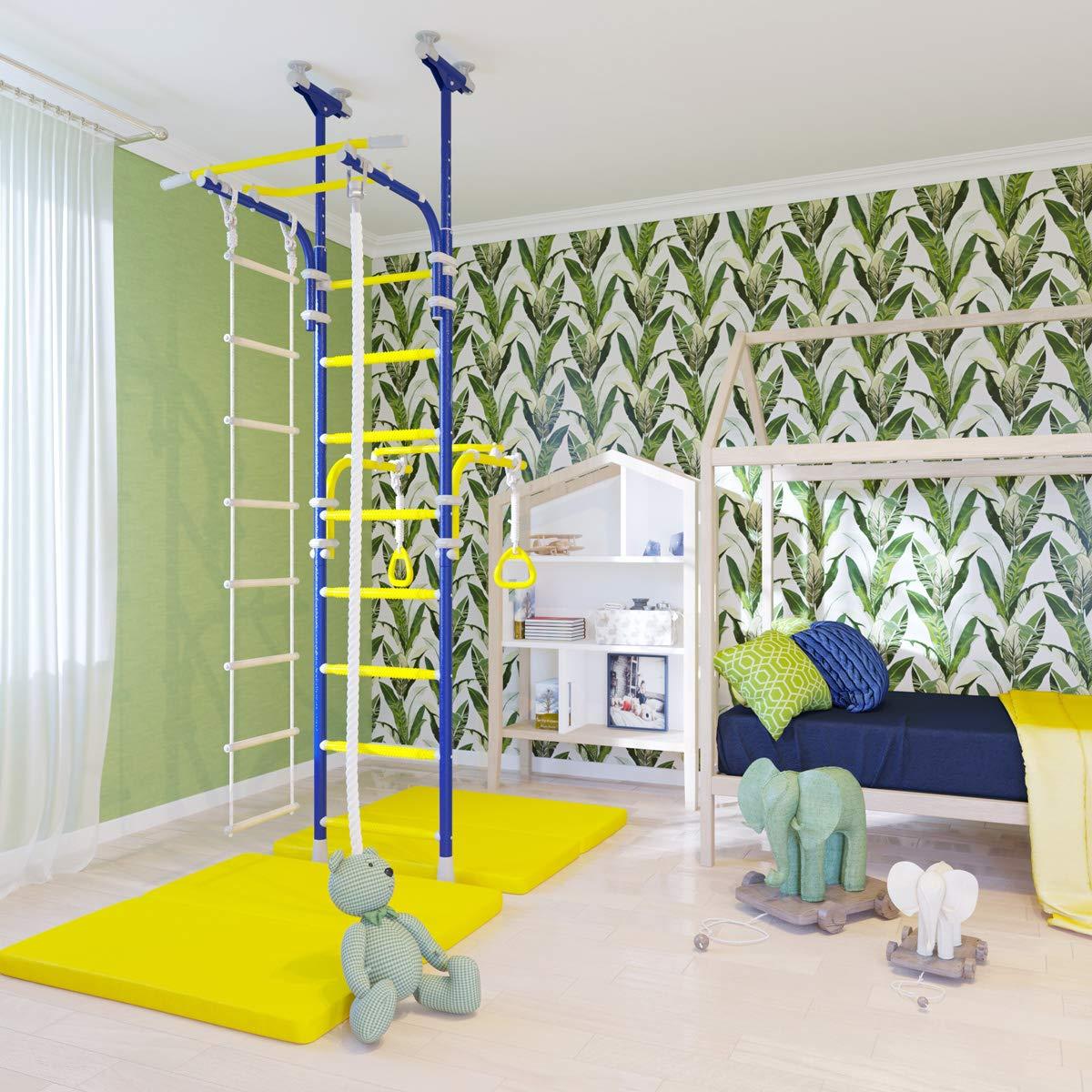 Home Gym Swedish Wall Playground Set for Schools Kids Room - Transforme