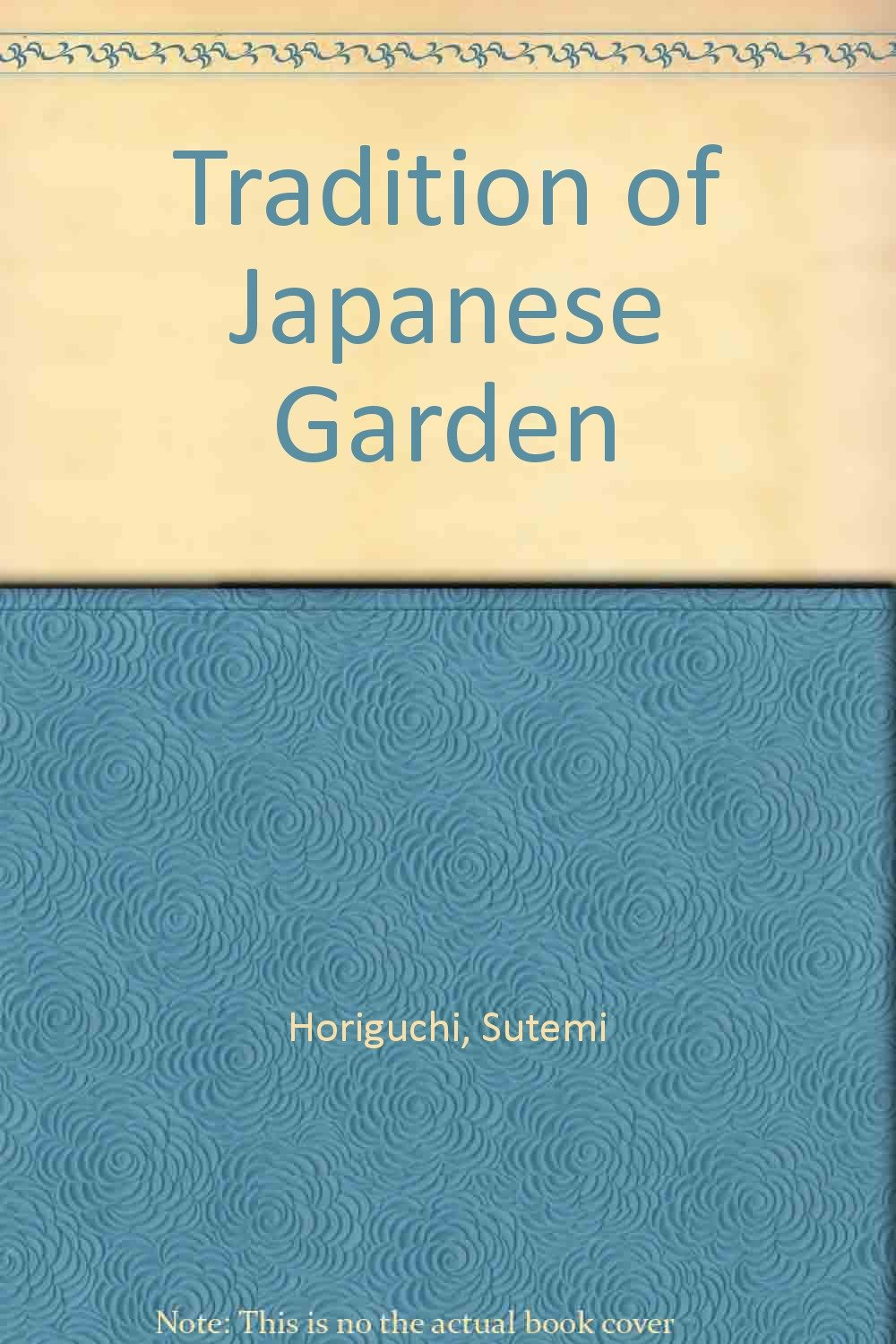 Tradition of Japanese garden