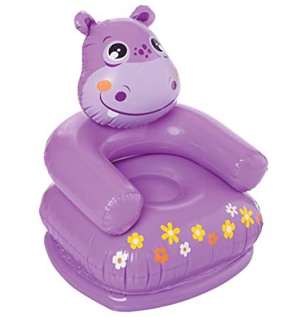 Intex Happy Animal Chair Assortment   Hippo, Multi Color
