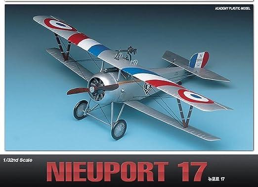 Amazon.com: Academy Nieuport 17 Francia Fighter avión modelo ...