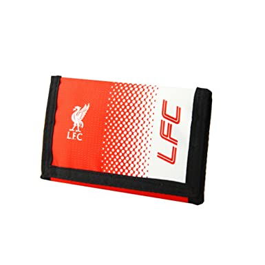 Liverpool FC Football Club Red White Fade Design Wallet Card Coins Cash Official: Amazon.es: Ropa y accesorios