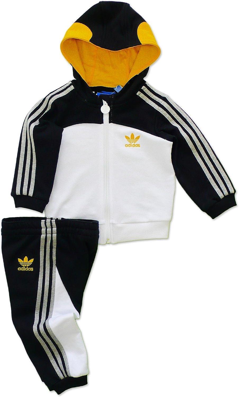 adidas Flock Penguin - Chándal de tiempo libre infantil - fucsia/verde, 70% algodón / 30% poliéster, 80 cm: Amazon.es: Deportes y aire libre