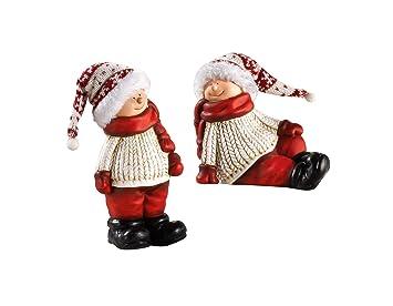 Deko Wichtel Figuren Weihnachten Amazon De Kuche Haushalt