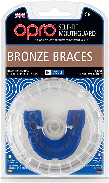 Opro Shield Protège-dents-Bronze