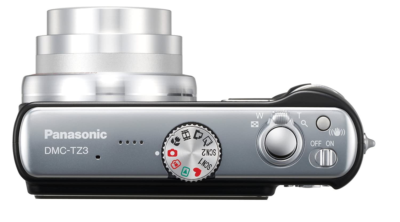 Amazon.com : Panasonic Lumix DMC-TZ3K 7.2MP Digital Camera with 10x Optical  Image Stabilized Zoom (Black) : Point And Shoot Digital Cameras : Camera &  Photo