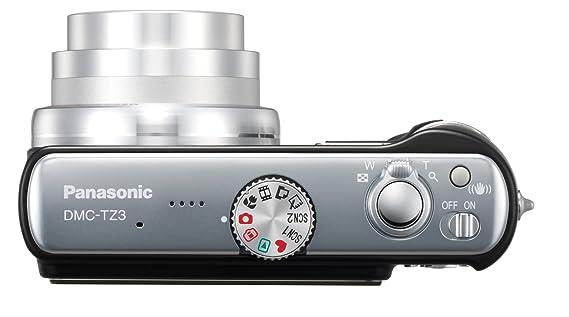 amazon com panasonic lumix dmc tz3k 7 2mp digital camera with 10x rh amazon com