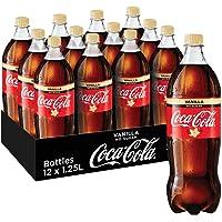 Coca-Cola No Sugar Vanilla Soft Drink, 12 x 1.25 l