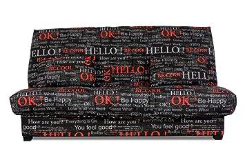 Relaxima 238bfeel Edwin Banquette-Lit colchón Espuma pillotech by Dunlopillo Feeling 194 x 98 x 102 cm: Amazon.es: Hogar