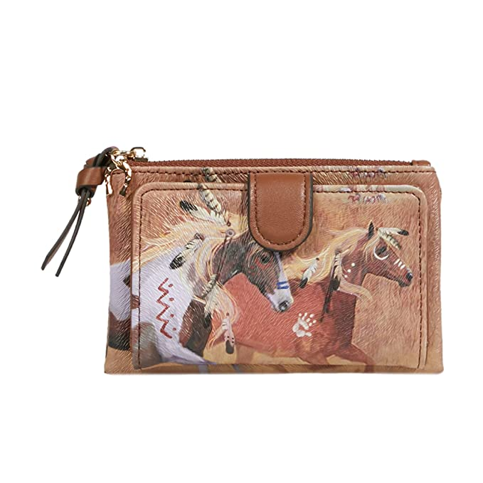 Parfois - Monedero Wapi - Mujeres - Tallas M - Camel: Amazon ...