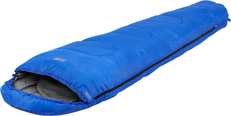 One size Highlander Erwachsene Schlafsack Sleepline 250 Mummy royalblau
