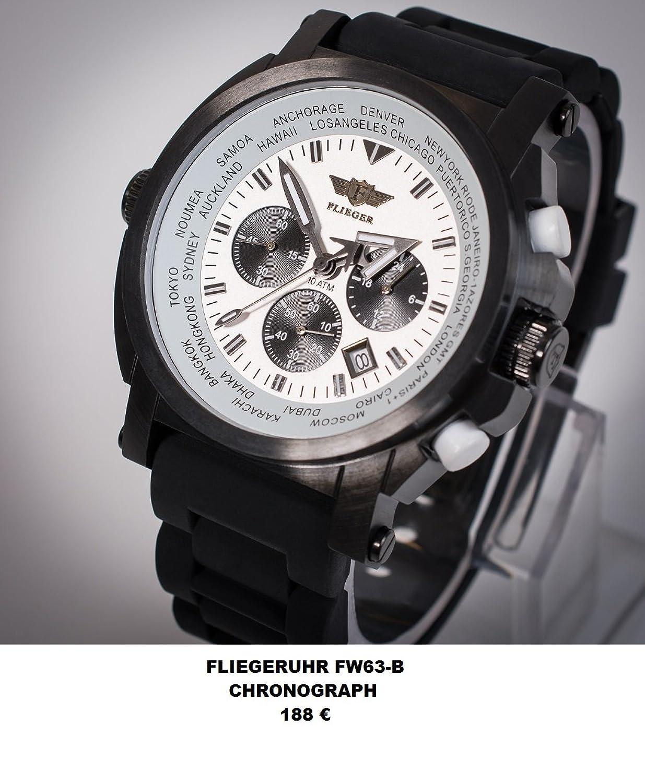 Fliegeruhr FW63-B Chronograph
