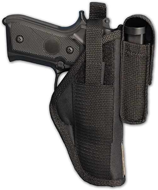 Details about  /New Barsony Burgundy Leather OWB Holster Mag Pouch Astra Beretta Comp 9mm 40